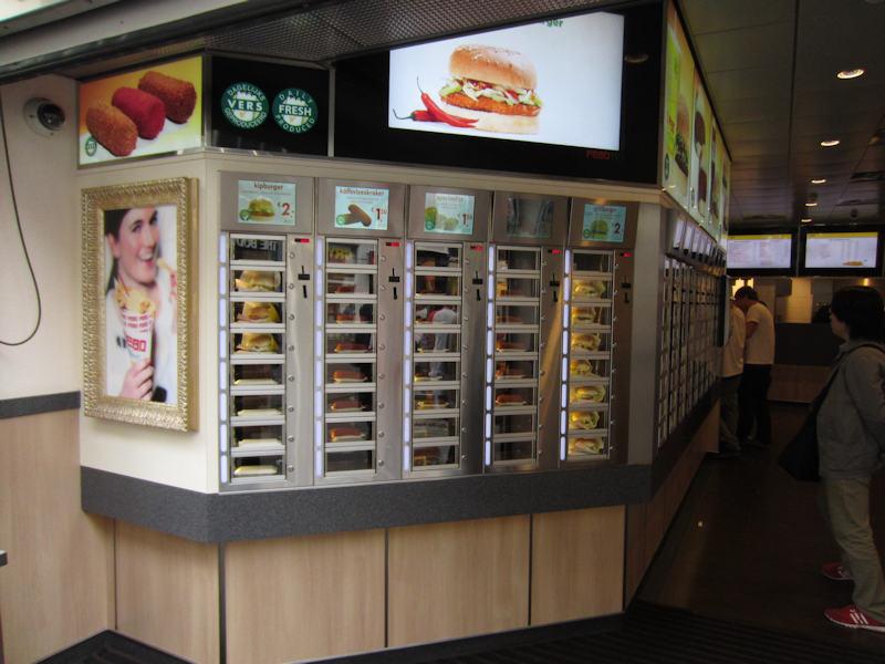 古くて新しい「自販機レストラン」が米国で脚光、非接触で生き残り図る