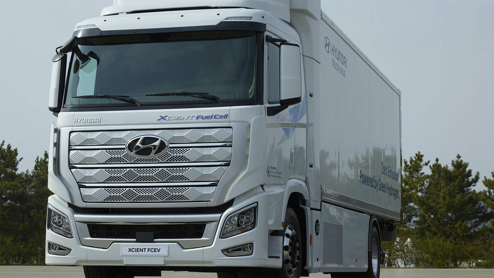 現代自動車、燃料電池大型トラック「XCIENT」を欧州向けに出荷 | 日経 ...