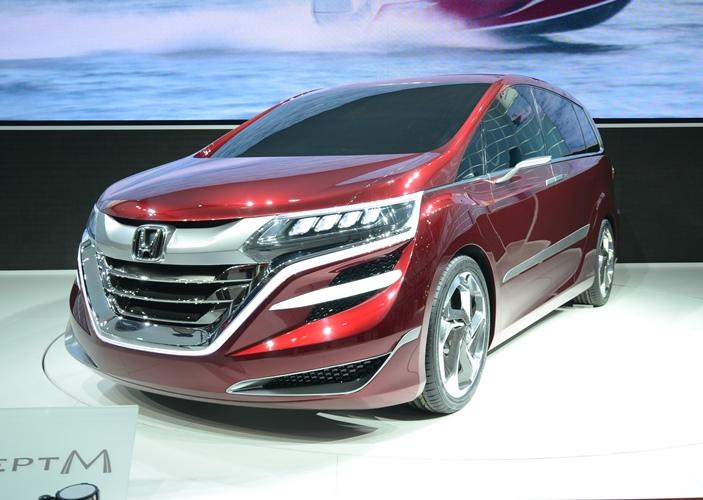 """【上海ショー】ホンダ、""""乗用車""""で販売するMPVのコンセプト車「Conc... ホンダは2013"""
