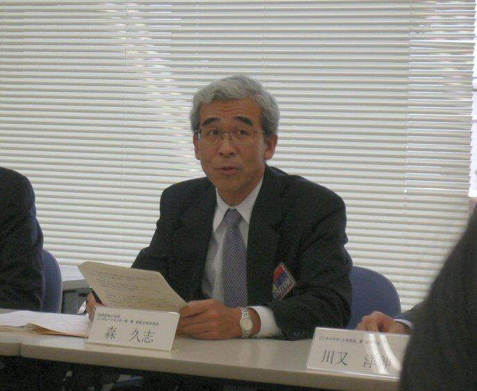 同社の取締役執行役員である森久志氏 | 日経 xTECH(クロステック)