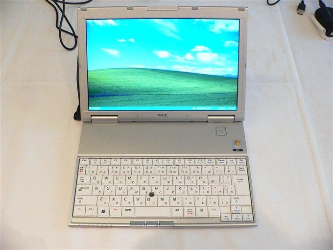 小型ノート・パソコン「VersaPro ...