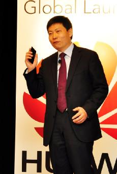 図2 Huawei Technologies社 Chief Strategy & Marketing Officer兼 Huawei Devices社ChairmanのRichard Yu氏