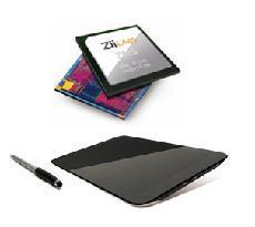 上がZMS-40、下が「HANZPAD GS」 Creative TechnologyとZiiLABS ...