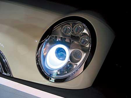 LEDランプを使ったAFS