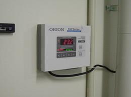 23℃±0.5℃に維持された室内
