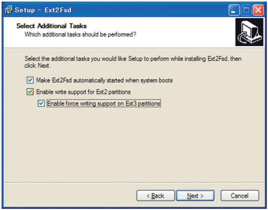 WindowsからLinux領域を読み書きできる ext2fsd | 日経 xTECH