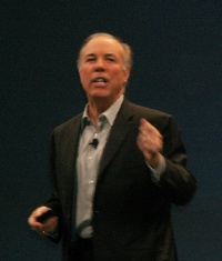 iForum 2007 App Delivery Expoのキーノート・スピーチで戦略を語る、米Citrix SystemsのMark Templeton CEO(最高経営責任者)