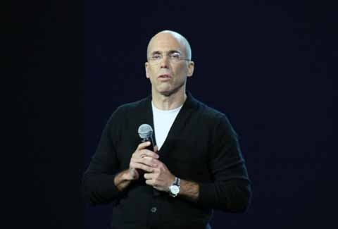写真9●米DreamWorks AnimationのJeffrey Katzenberg CEO