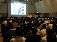 写真2●Enterprise TEST Forum 2012の会場
