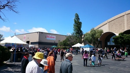 写真1●「Maker Faire Bay Area 2014」の会場