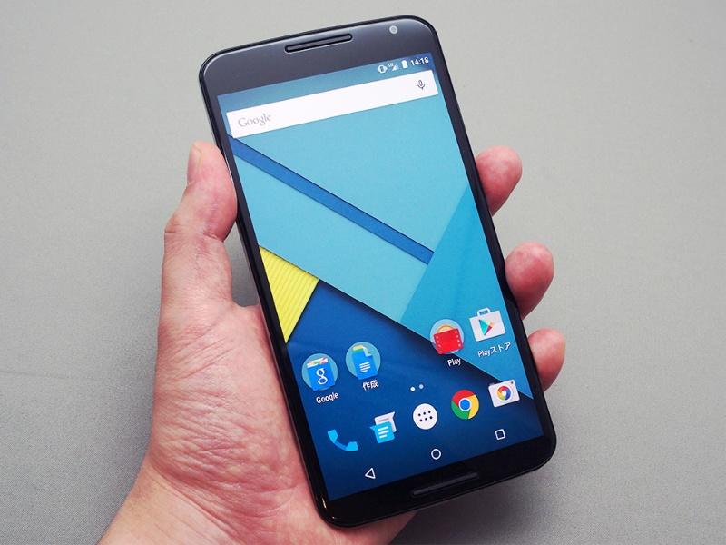 史上最大級の大画面6インチスマホ Nexus 6 をレビューする 日経クロステック Xtech