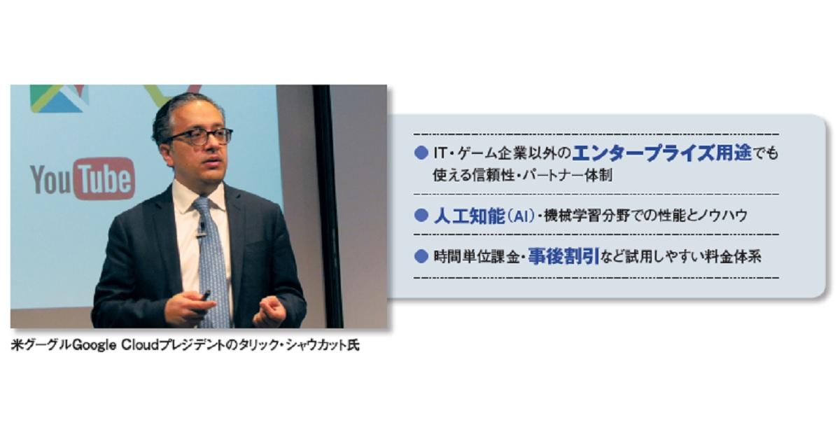 グーグルと日本IBMが相次ぎクラウド強化、AI・機械学習を企業に広める