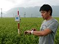 水田管理はAppleWatchにお任せ 熊本発、最高に旨い米作り