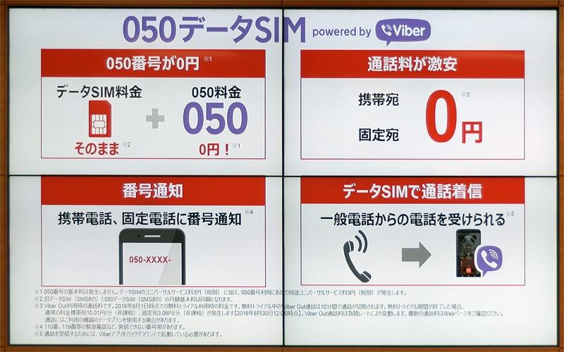 携帯 番号 050