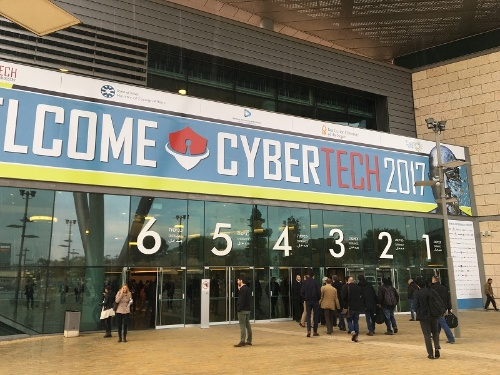 写真2●CyberTech 2017会場のTel Aviv Convention Center