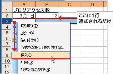 Excelの技:複数の行を一気に挿入して操作を楽にする!