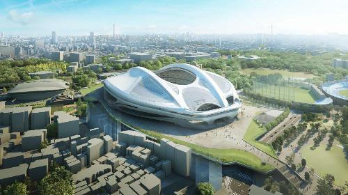 新国立競技場、総工費2520億円